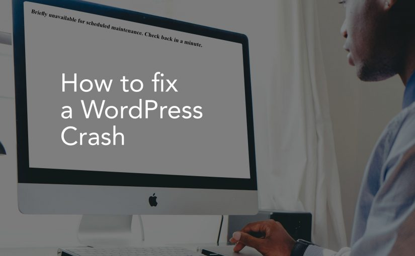 How to fix a WordPress Crash